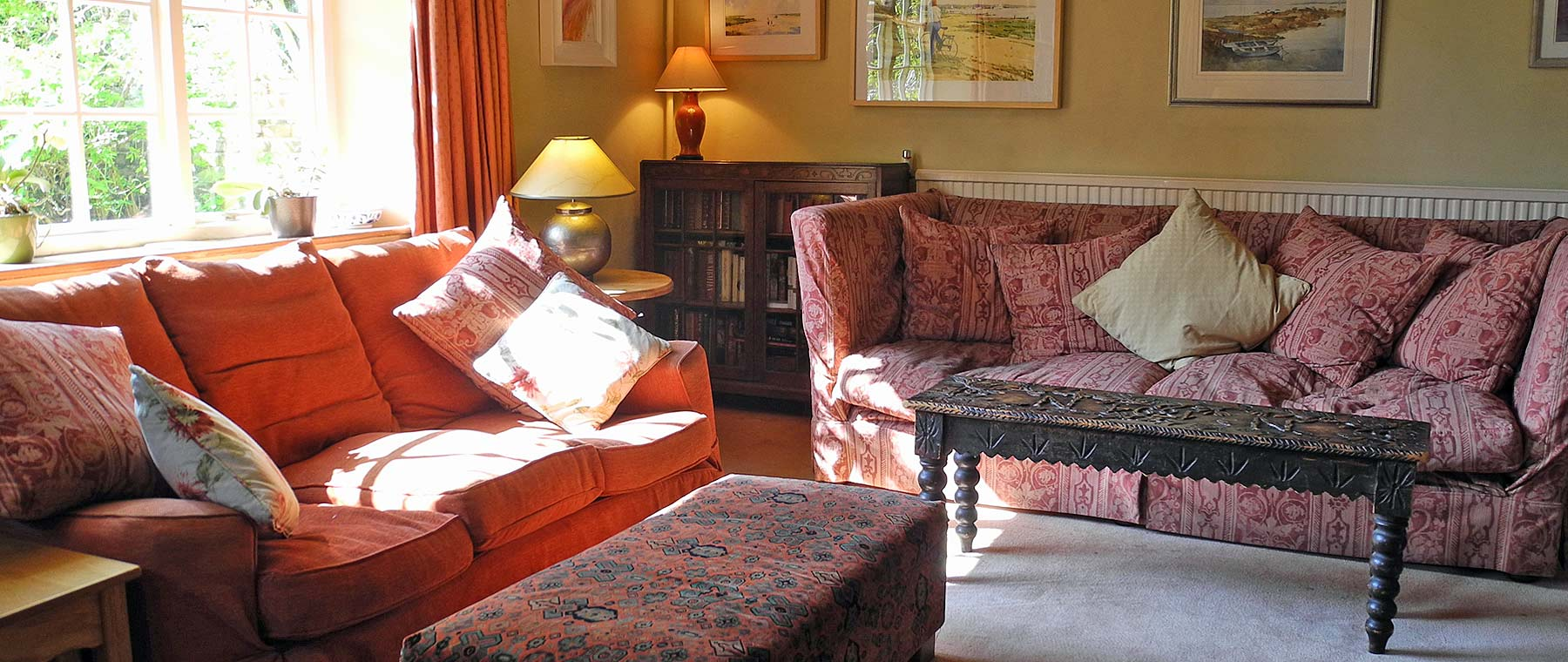 Cosy Lounge Areas